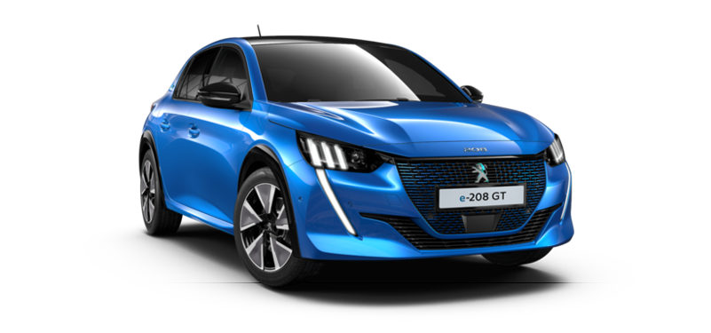 PEUGEOT All- New E-208 100kW GT 50kWh 5dr Auto