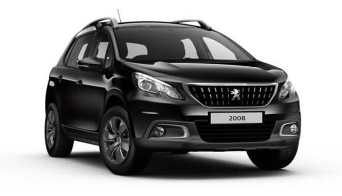 2008 SUV Peugeot Black