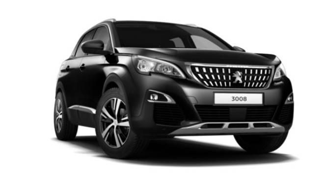 3008 SUV Peugeot Black