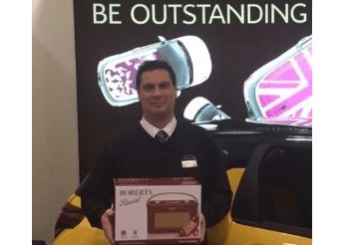 Citroen Award For Howards' Unbeatable Customer Service!