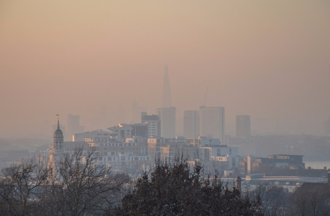 air pollution over london_1
