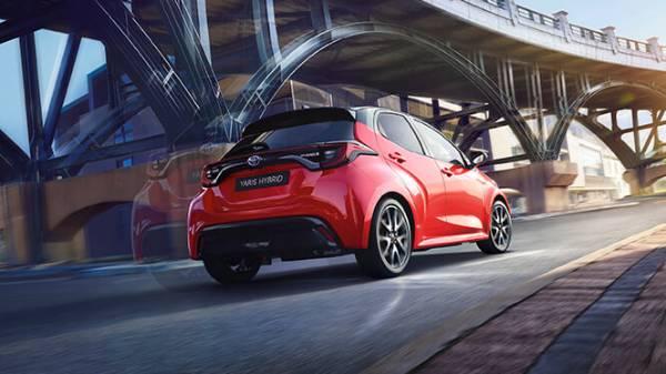 all-new toyota yaris hybrid rear end lifestyle