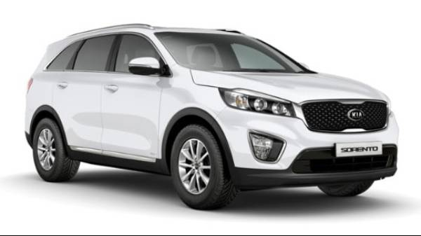 All new Kia Sorento white LHS
