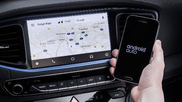 Android auto and sat nav