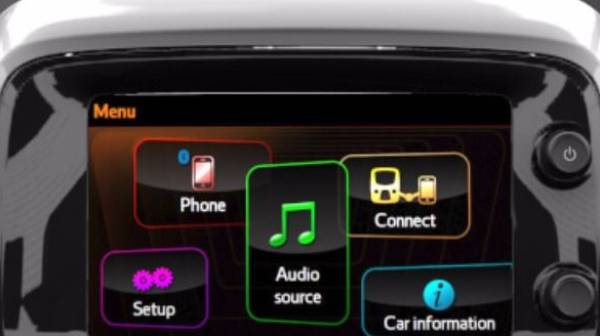 Aygo connect Multimedia
