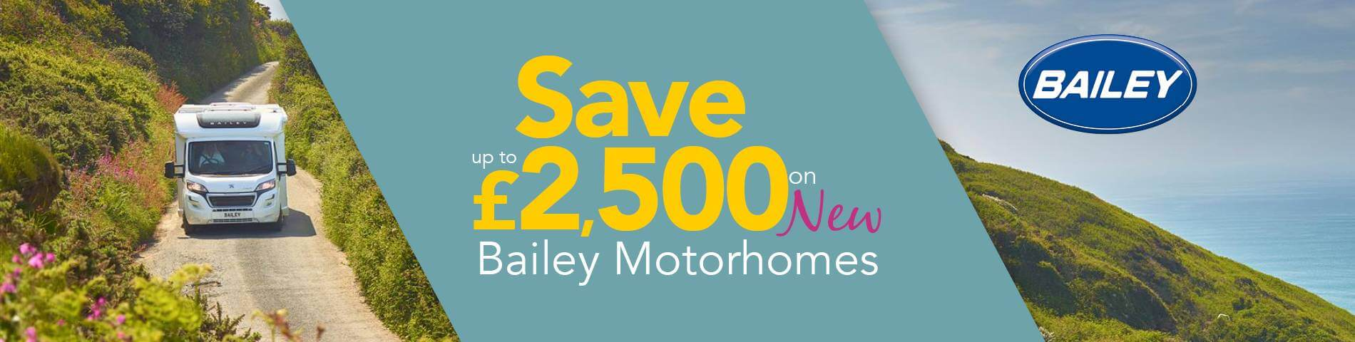 Bailey Motorhomes Reductions