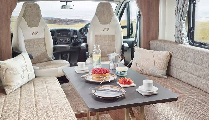Bailey Motorhomes Interior