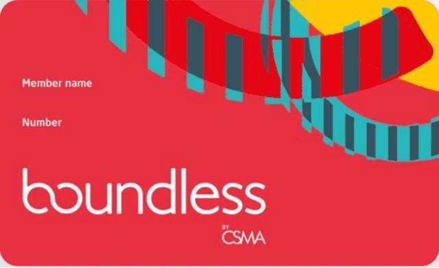Boundless card