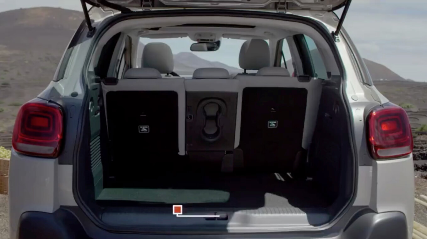 C3 AIRCROSS Rear Boot Space