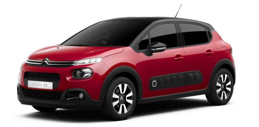 C3 Aircross Flair Red