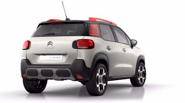 C3 Aircross Rear End