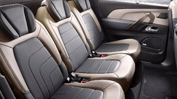C4 Picasso 3 rear seat