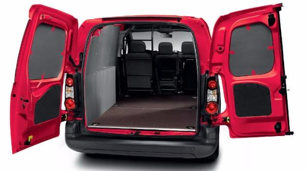 Citroen Berlingo van rear opening doors