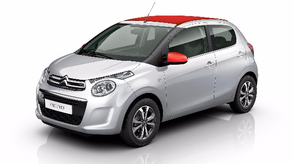 Citroen C1 airscape soft top silver