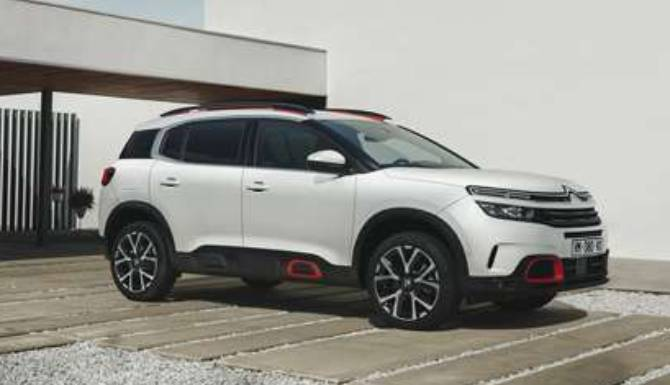 Citroen C5 Aircross New car block