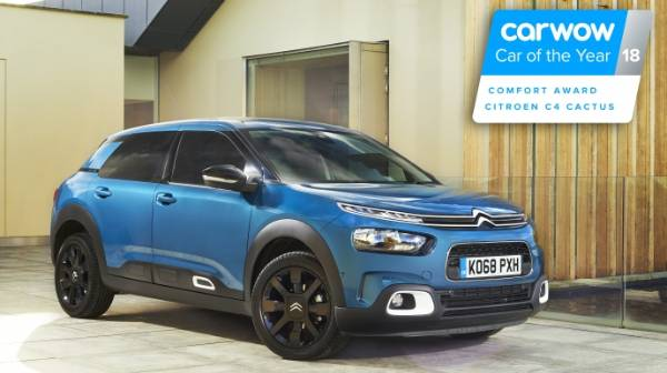 New Citroen C4 Cactus wins at carwow
