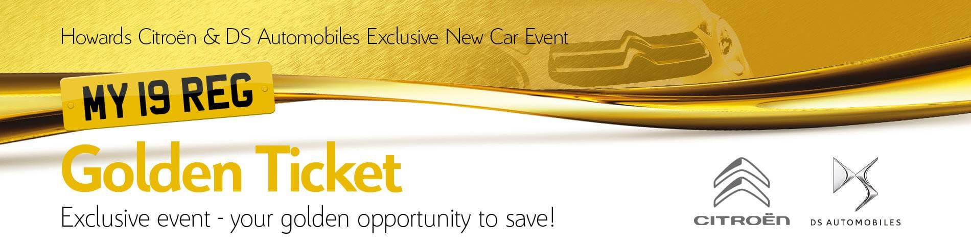 Citroen Golden Ticket