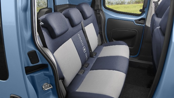 Citroen Nemo van back seats