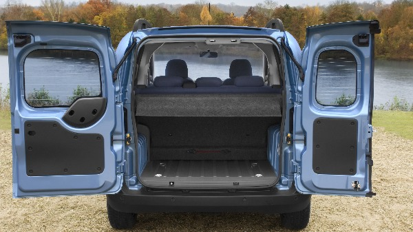 Citroen Nemo Van Rear open back doors