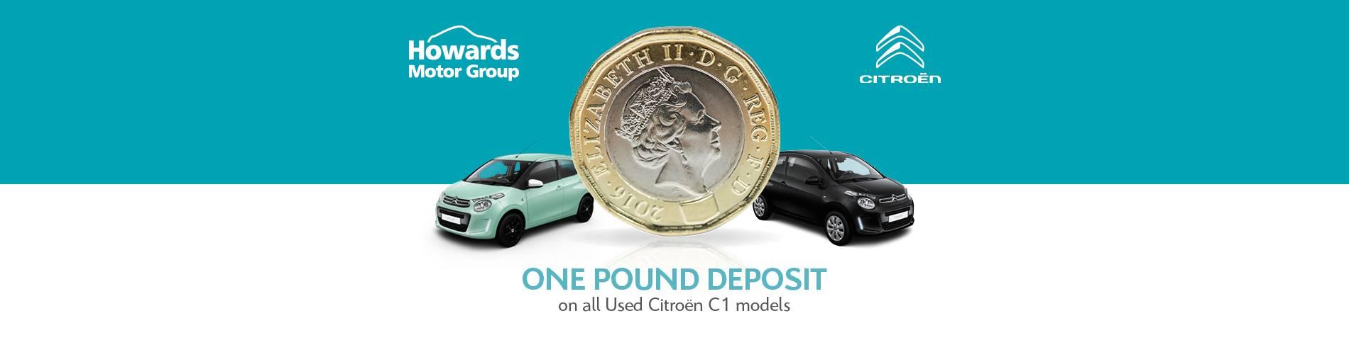Citroen C1 One Pound Deposit
