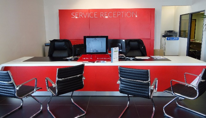 Citroen WSM Service reception