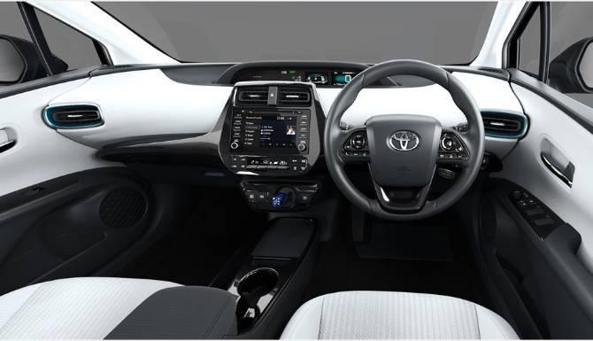 Cool Grey Dashboard Toyota Prius