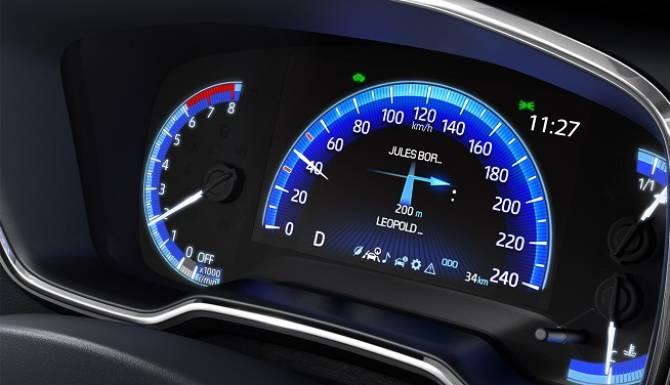 Corolla Interior Dash