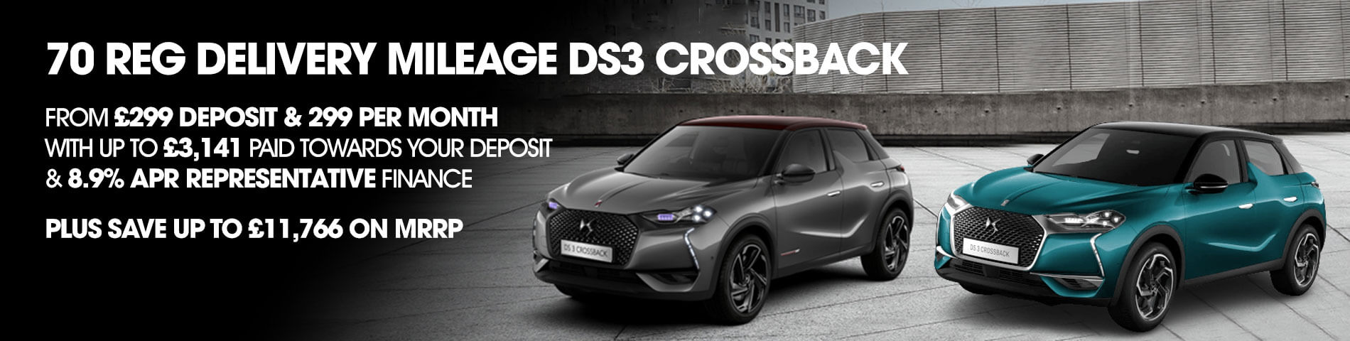Delivery Mileage DS3 Crossback