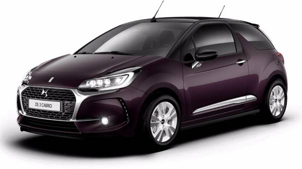 DS3 Cabrio Purple