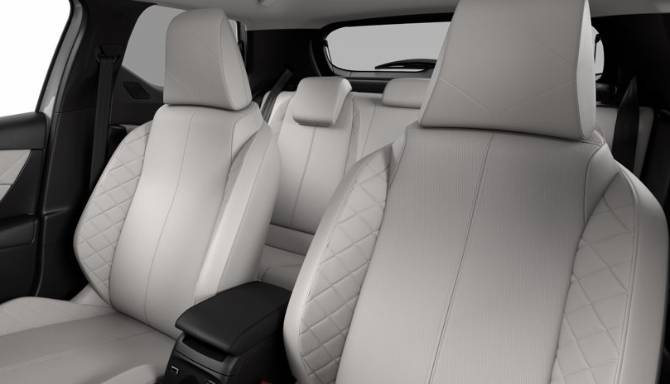 DS 3 E-TENSE CROSSBACK Interior White Leather Seats