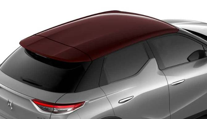 DS 3 E-TENSE CROSSBACK RED ROOF