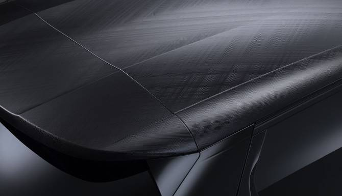 DS 3 E-TENSE CROSSBACK Roof Material