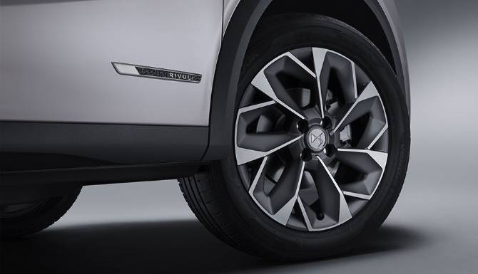 DS 3 E-TENSE CROSSBACK Wheel