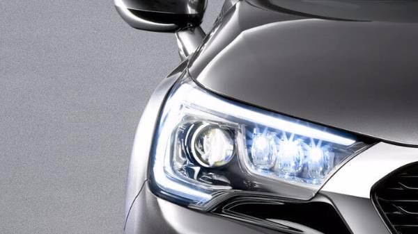 DS4 Grey headlight