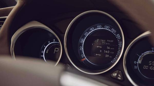 DS4 Speed and dials
