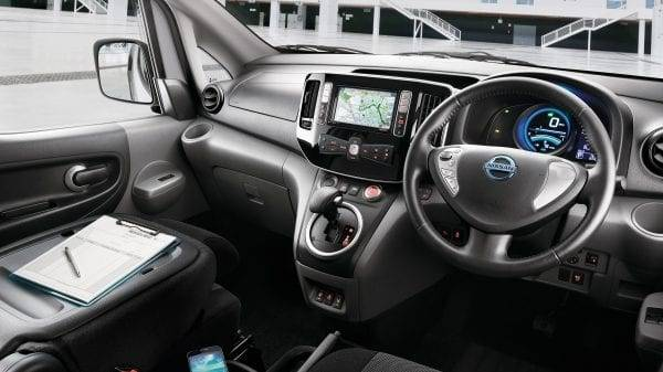 e-NV200 Interior Design