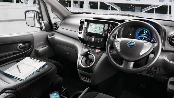 e-NV200 Interior Design
