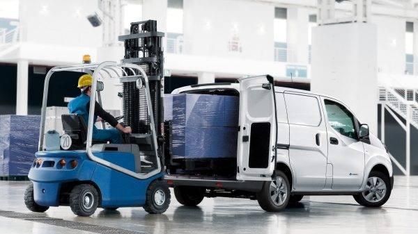e-NV200 Van Loading