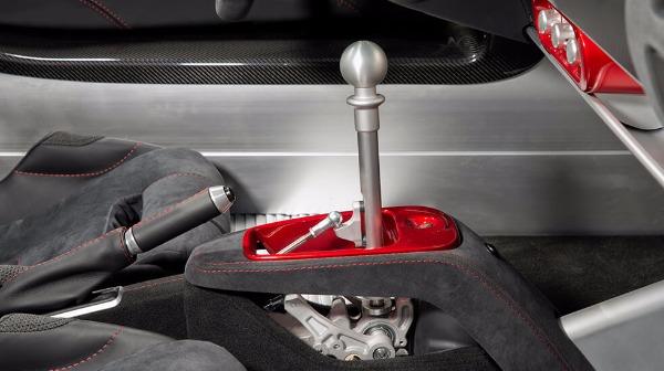 Elise - interior - Gear Stick