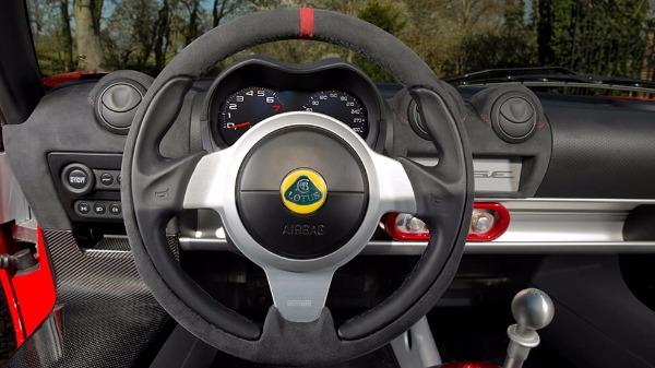 Elise - interior - steering wheel