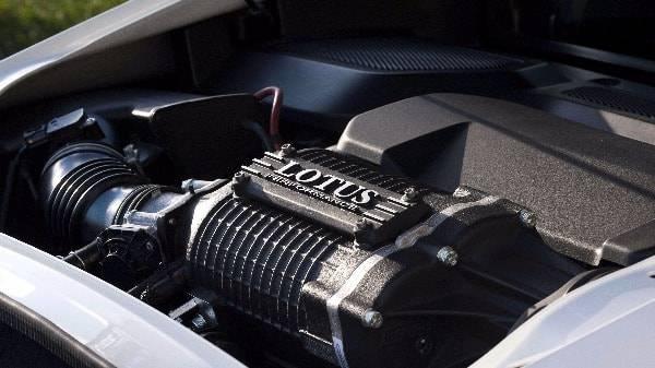 Exige 350 Sport - ENGINE