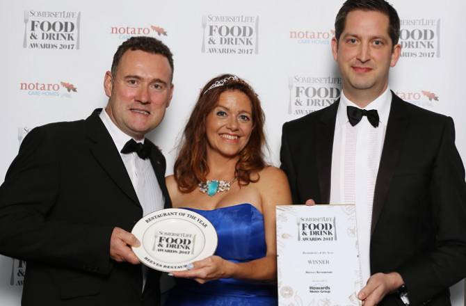 Howards proud sponsors at Somerset Life Food & Drink Awards