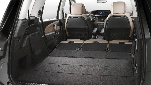 grand c4 picasso folded seats