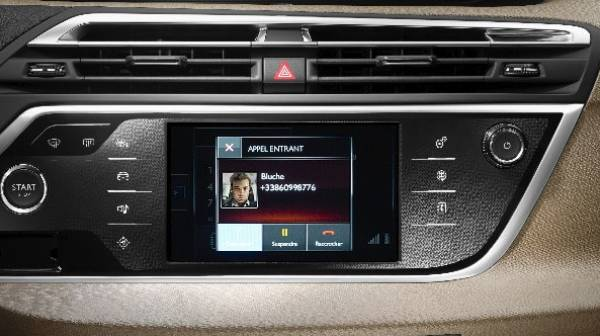 grand c4 picasso touchscreen