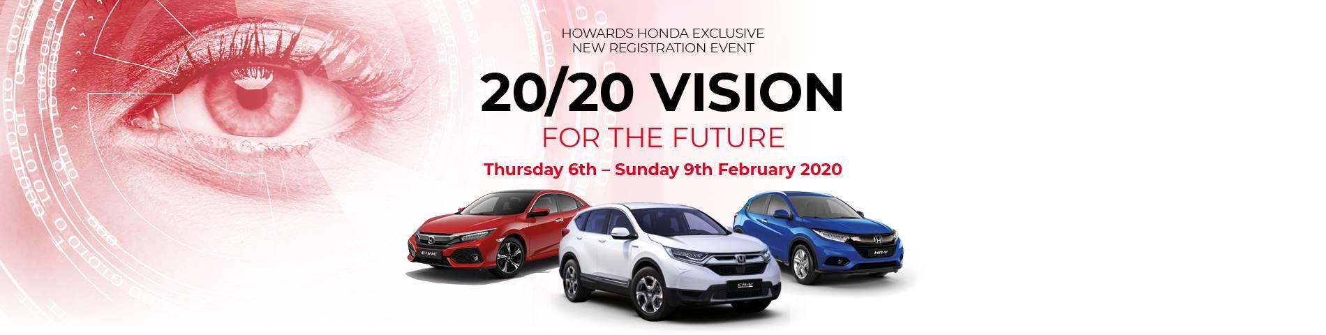 Honda 2020 Vision