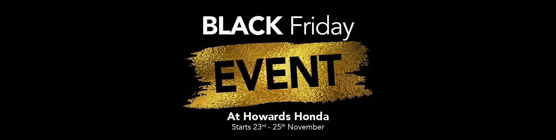 Honda Black Friday
