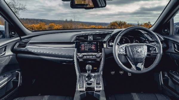 Honda civic 2017 - full dash console.
