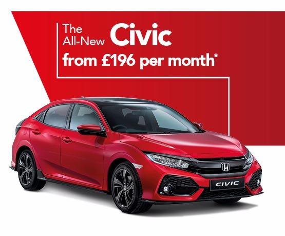 Honda Civic Business Offer