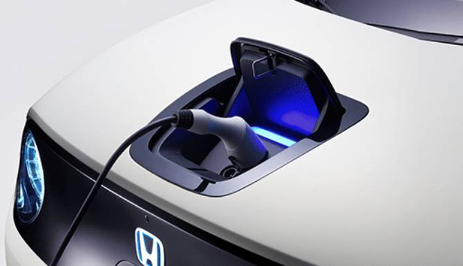 Honda e Prototype Charging Port
