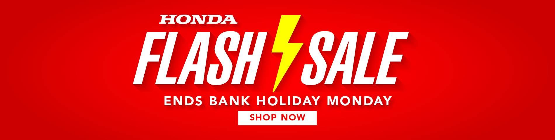 Honda Flash Sale